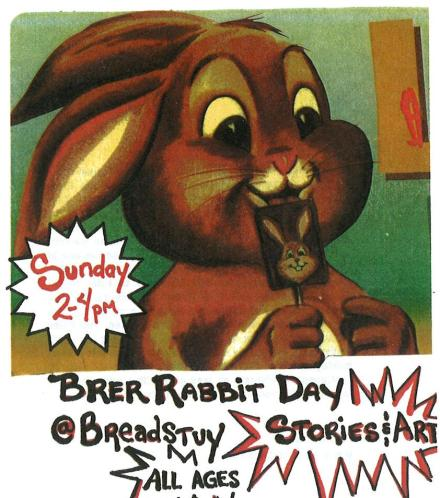 Brer Rabbit mini flier 2011